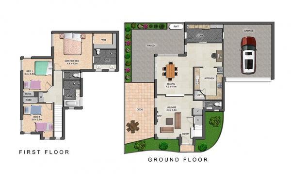 Mentone Abode - Mentone - Floor Plan