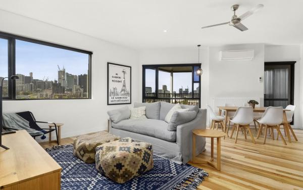 Highviews - Melbourne - Living Area Dining Area