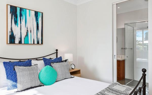 The Richardson - Mentone - Bedroom 1 and Ensuite