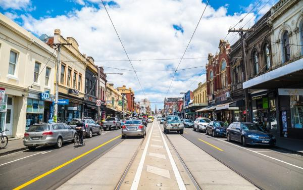 The Streets of Brunswick Melbourne